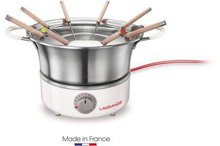 Lagrange - 349301 - Fondue 900w 8 fourchettes