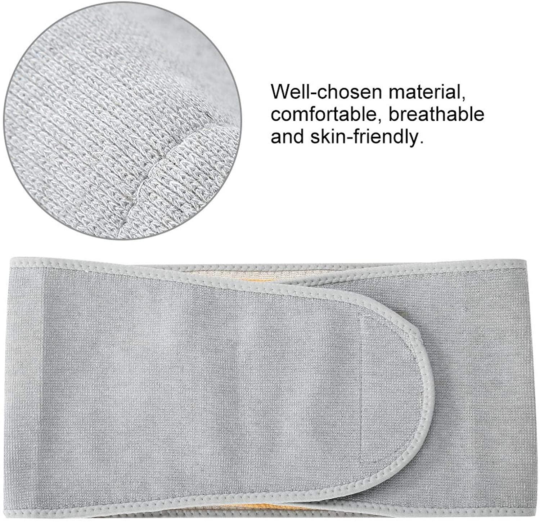 Sonew Chaud Abdomen Support, Support de taille ajustable avec garniture intérieure en peluche, unisexe pour l'hiver(L)
