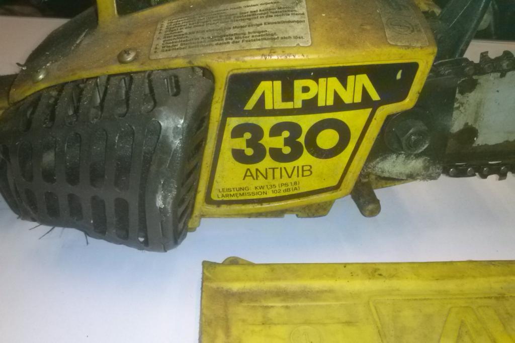 tronçonneuses Alpina