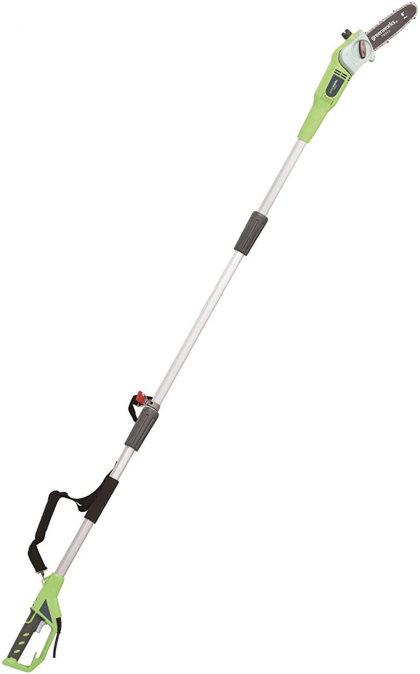 Greenworks Élagueuse électrique 20cm sur perche, 720W – 20147